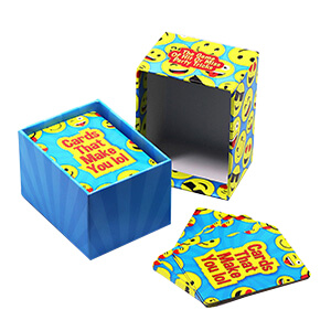Educational Cards With Lid and Base Box