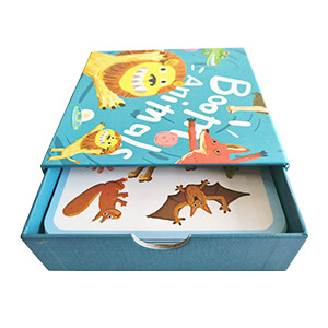 Educational Cards With Sliding Box